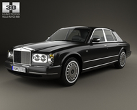 Rolls-Royce Silver Seraph 1998 3D Model