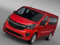 Opel Vivaro 2015 3D Model
