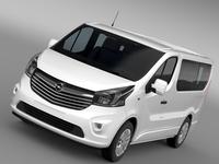 Opel Vivaro Biturbo 2015 3D Model