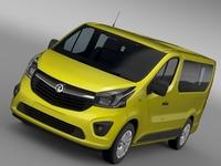 Vauxhall Vivaro 2015 3D Model