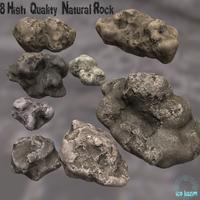 Rock_Set 3D Model