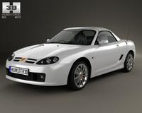 MG TF 2002 3D Model