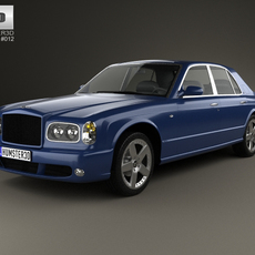 Bentley Arnage T 2002 3D Model