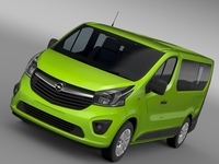 Opel Vivaro EcoFlex 2015 3D Model