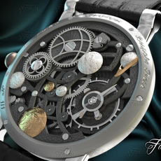 Watch mechanism 13 3D Model