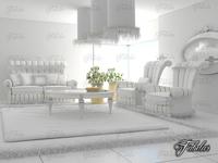 Living room 34 3D Model