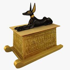 Anubis shrine 3D Model