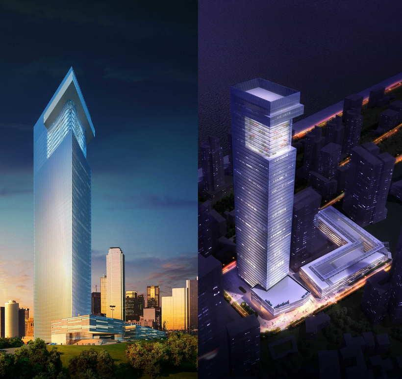 Skyscraper Office Building 093 3D Model