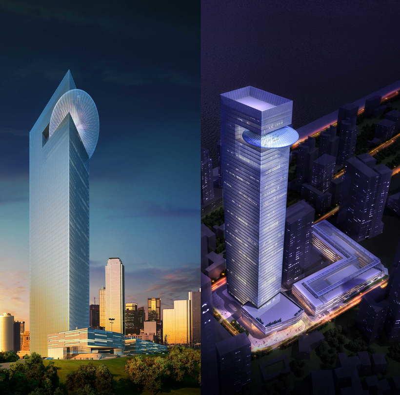 Skyscraper Office Building 097 3D Model