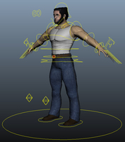 Wolverine/Logan Rig for Maya 1.0.0