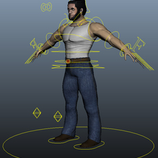 Wolverine/Logan Rig 1.0.0 for Maya