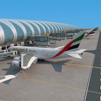 Dubai airport 3D Model