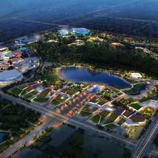 Amusement park 003 3D Model