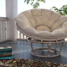 Papasan Chair 3D Model