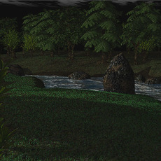 The Forest Scene 3D Model