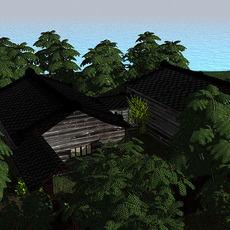 The Dojo Scene 3D Model