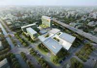 Hospital building 005 3D Model