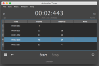 Animation Timer 1.4.2 for Maya (maya script)