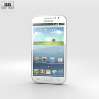 Samsung Galaxy Win Ceramic White 3D Model