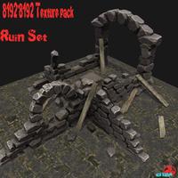 Ruin_Set 3D Model