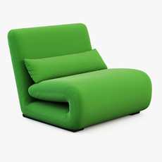 Armchair TATTOMI 3D Model
