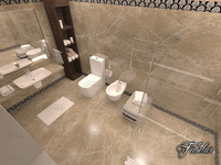Bathroom 68 3D Model
