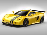 Ascari A10 3D Model