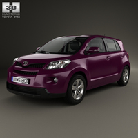 Toyota Urban Cruiser with HQ interior 2008 3D Model