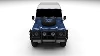 Land Rover Defender 90 Hard Top 3D Model