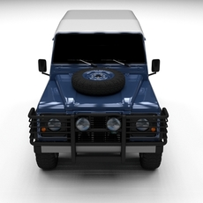 Land Rover Defender 90 Hard Top 3D Model