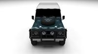 Land Rover Defender 90 Station Wagon 3D Model