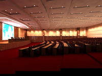 Auditorium room 011 3D Model