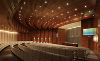 Auditorium room 016 3D Model