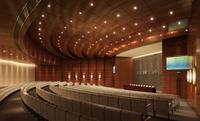 Auditorium room 016 3D Model