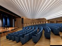 Auditorium room 015 3D Model