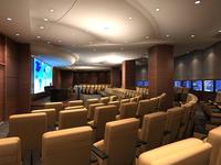 Auditorium room 018 3D Model