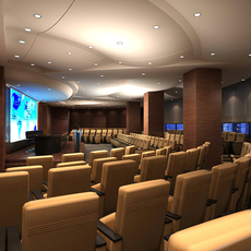 Auditorium room 018 3D Model