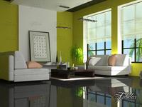 Living room 35 3D Model