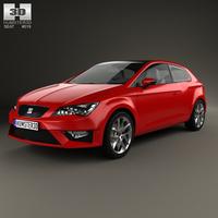 Seat Leon SC FR 2013 3D Model