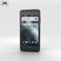 HTC Desire 610 Black 3D Model