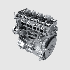 Engine Block 3D Model