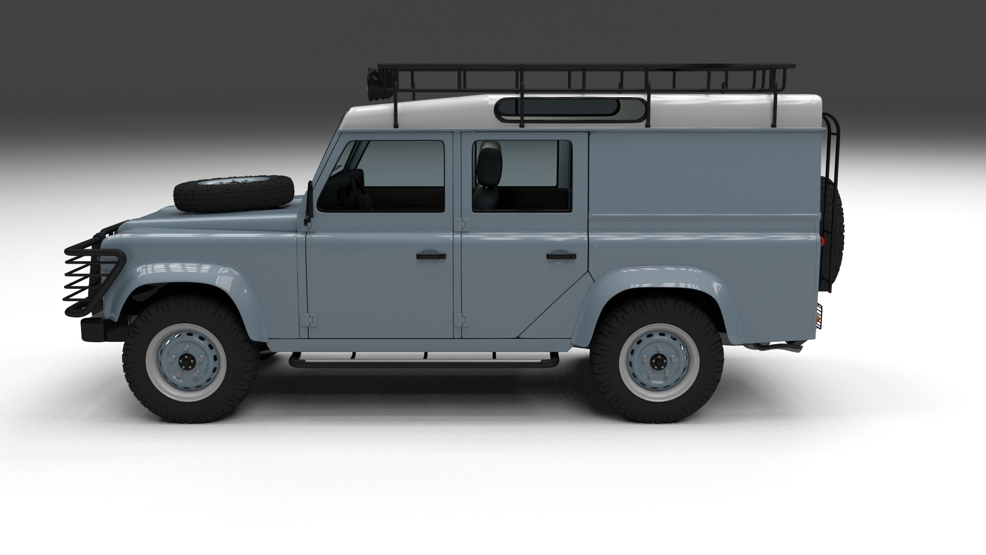 full land rover defender 110 utility station wagon 3d model. Black Bedroom Furniture Sets. Home Design Ideas