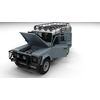 06 11 15 945 land rover defender 110 utility wagon full open 0040 4