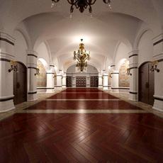 Corridor 084 3D Model