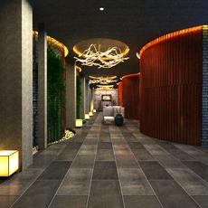 Corridor 087 3D Model