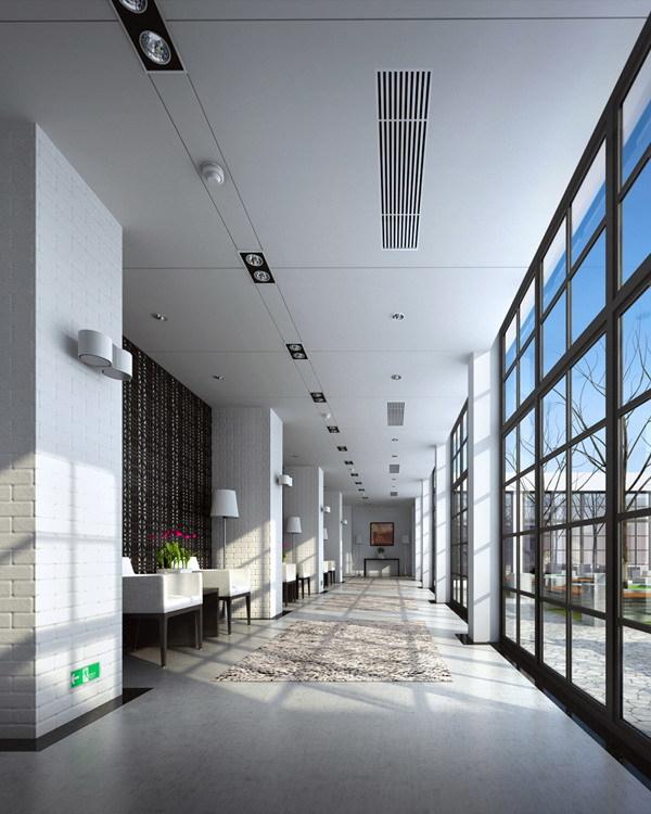 Corridor 093 3D Model