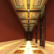 Corridor 095 3D Model