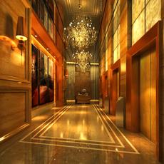 Corridor 099 3D Model