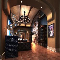 Corridor 100 3D Model