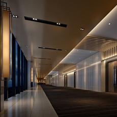 Corridor 109 3D Model